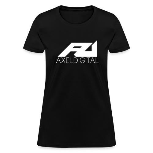 Women's White Logo Tee - Women's T-Shirt