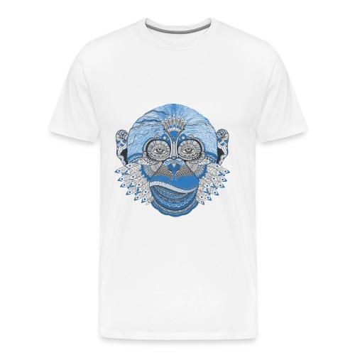 oriental animal white - Men's Premium T-Shirt