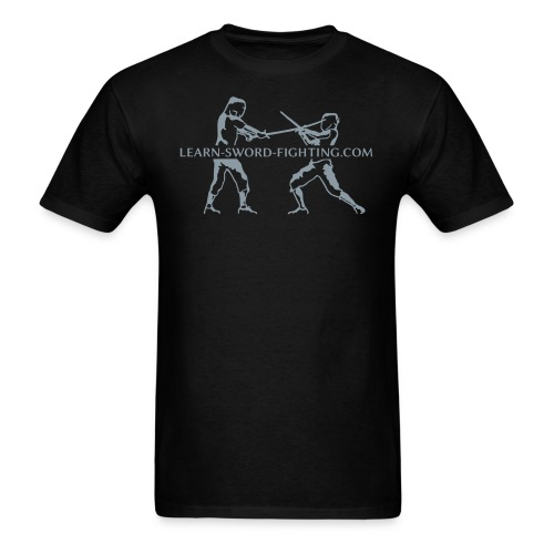 learn-sword-fighting.com (men) - Men's T-Shirt