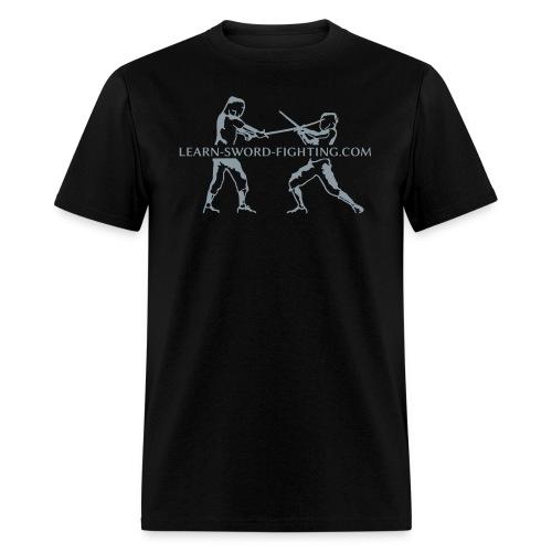 learn-sword-fighting.com (men) - Men's T-Shirt