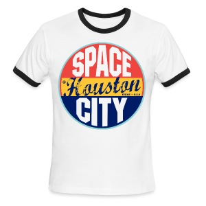 Space City Tee - Men's Ringer T-Shirt