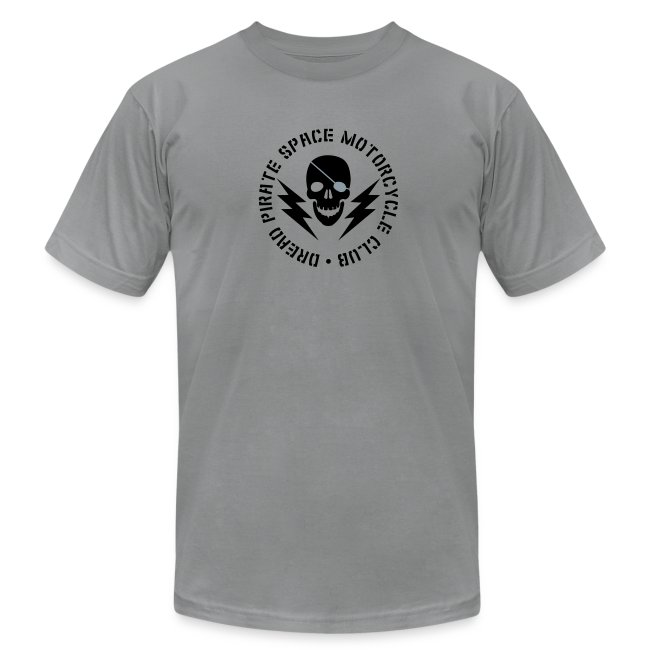 Dread Pirate Space Motorcycle Club (Black and Silver Logo)