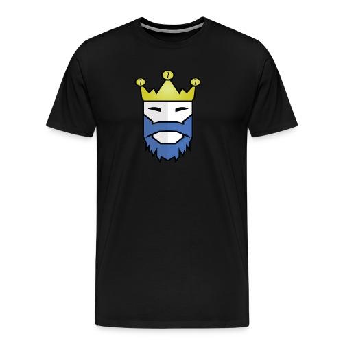 King Logo(t-shirt) - Men's Premium T-Shirt