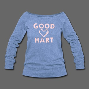 Good Hart Michigan - Women's Wideneck Sweatshirt