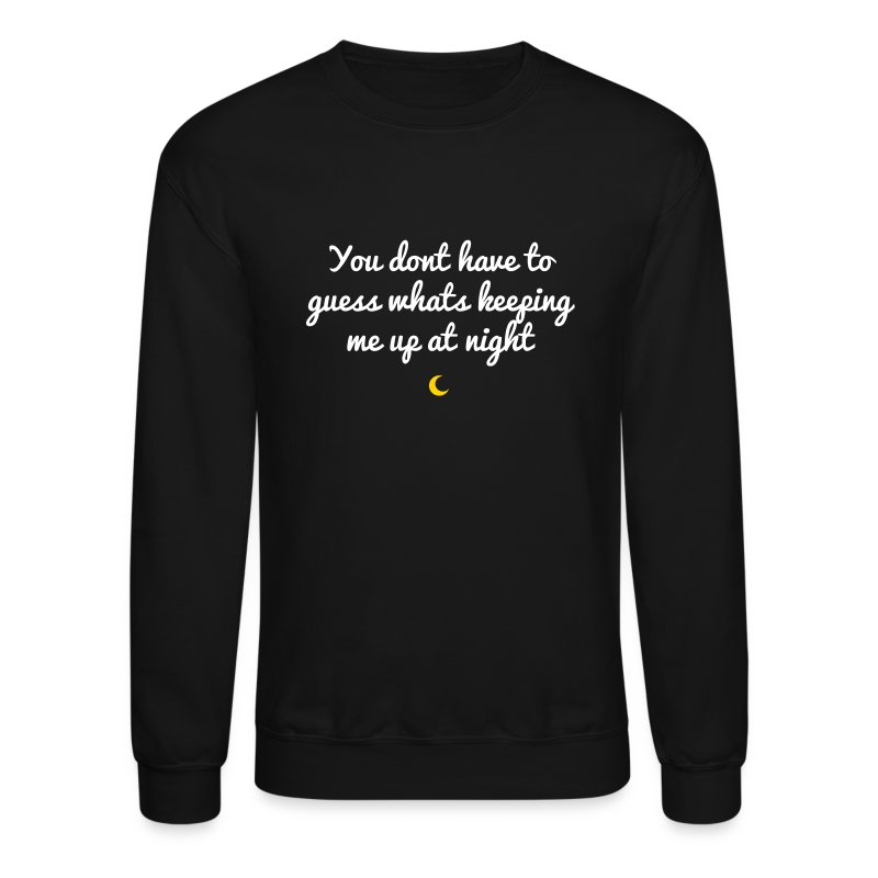 crescent moon shape - Crewneck Sweatshirt