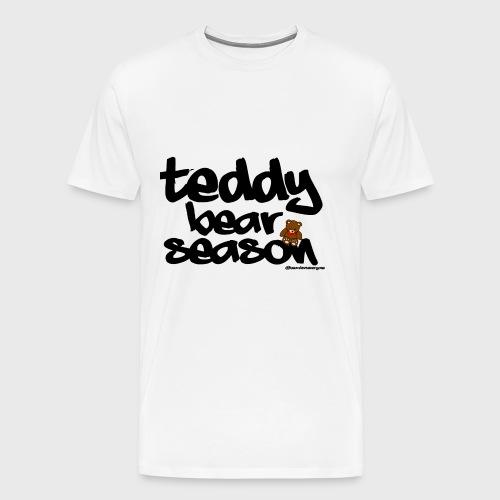 Teddy Bear Season - Men's Premium T-Shirt