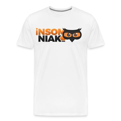 T-Shirt Homme Logo Complet - T-shirt premium pour hommes