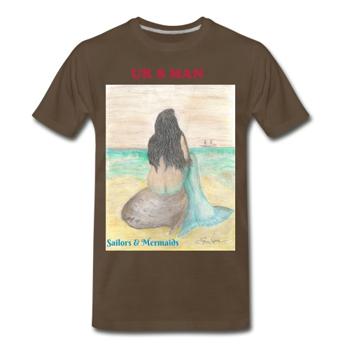 Sailors & Mermaids T - Men's Premium T-Shirt