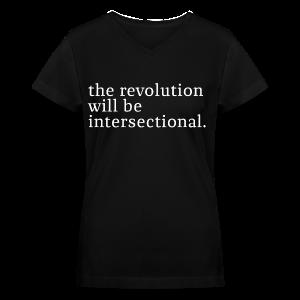 The revolution - Women's V-Neck T-Shirt