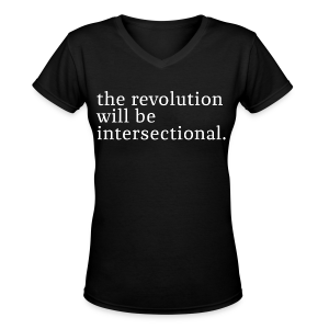 The revolution - Women's V-Neck T-Shirt