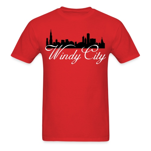 Windy CIty - Men's T-Shirt