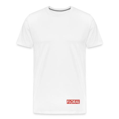 Floral Supreme Style Shirt - Men's Premium T-Shirt