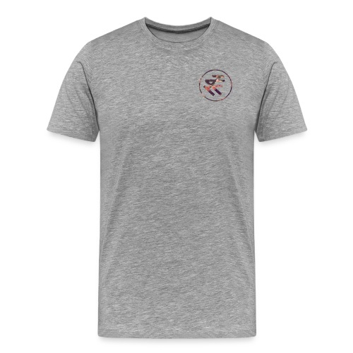 Floral Logo Shirt - Men's Premium T-Shirt