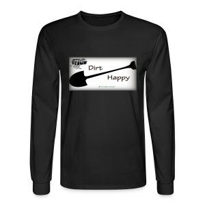 Dirt Happy - Men's Long Sleeve T-Shirt
