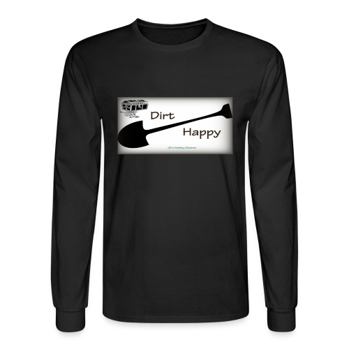 Dirt Happy - Men's Long Sleeve T-Shirt