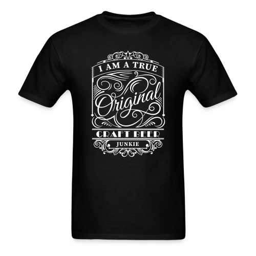 Craft Beer Junkie - Mens Beer T-Shirt - Men's T-Shirt
