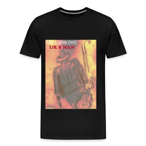 City Lights (first sketch) T - Men's Premium T-Shirt