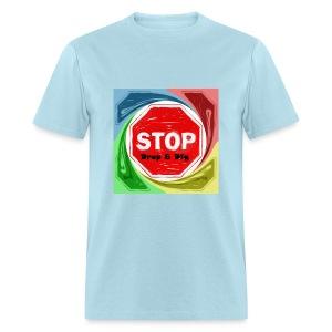 Stop Drop & Dig (Rainbow) - Men's T-Shirt