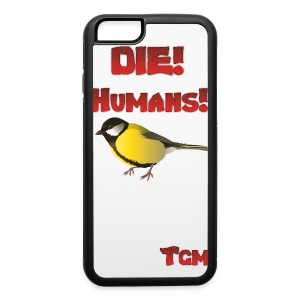 DIE HUMANS5 - iPhone 6/6s Rubber Case