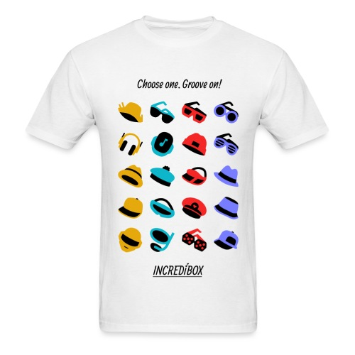 GROOVE ON ICONS T-SHIRT - Men's T-Shirt