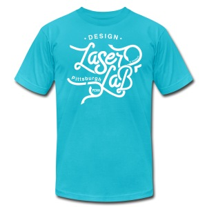 Laser Lab - Design - Men's Fine Jersey T-Shirt