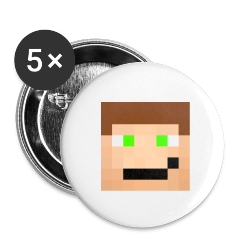 Button - RyanNut Face - Small Buttons