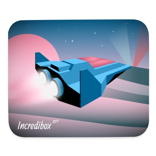 SPACESHIP MOUSE MAT - Mouse pad Horizontal