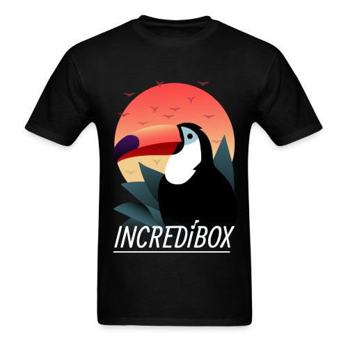 SUNRISE TOUCAN T-SHIRT - Men's T-Shirt