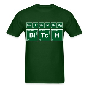 Atomic Heisenberg Bitch - Men's T-Shirt