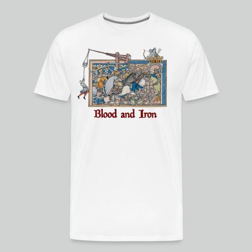 Blood and Iron - Men's Premium T-Shirt