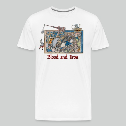 Blood and Iron - Men's Premium T-Shirt