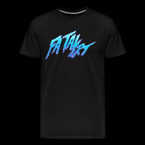 Fatal Art! - Logo #2 - Men's Premium T-Shirt