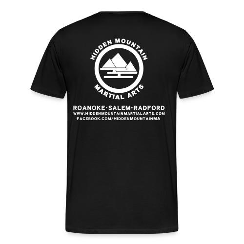 Men's Hidden Mountain T-Shirt - Men's Premium T-Shirt