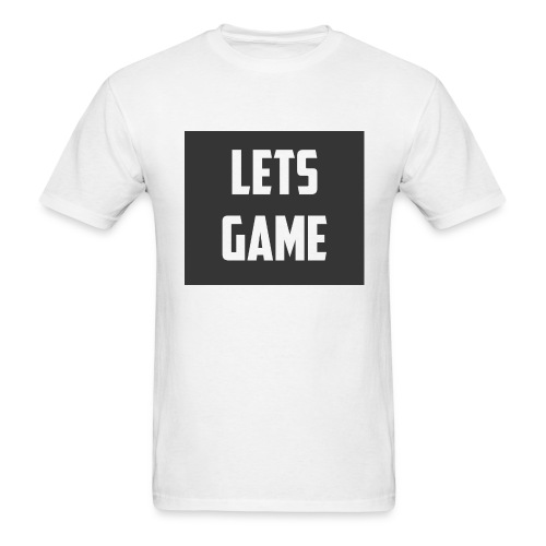 Lets Game - Men's T-Shirt