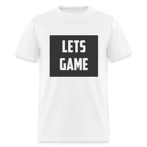 Lets Game - Men's T-Shirt