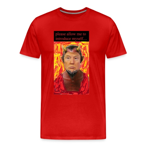 Satan Trump - Men's Premium T-Shirt