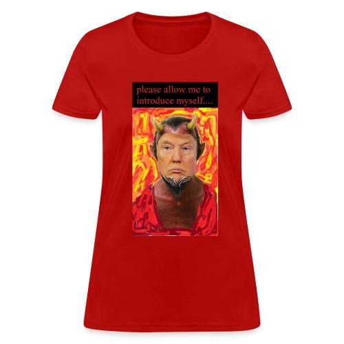 Satan Trump - Women's T-Shirt