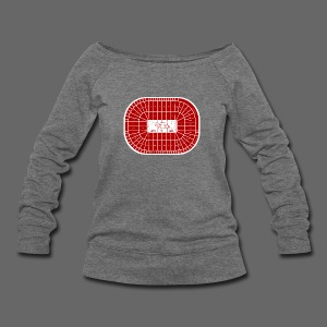 Joe Louis Arena Tribute Shirt - Women's Wideneck Sweatshirt