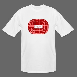 Joe Louis Arena Tribute Shirt - Men's Tall T-Shirt