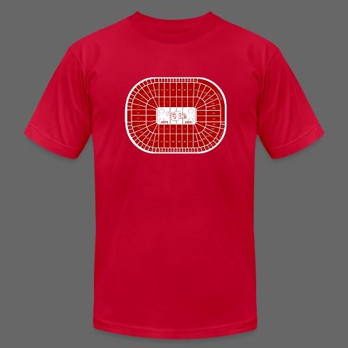 Joe Louis Arena Tribute Shirt - Men's Fine Jersey T-Shirt