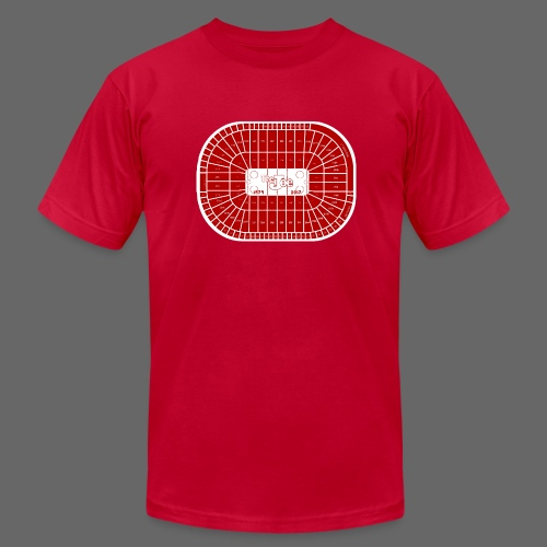 Joe Louis Arena Tribute Shirt - Men's T-Shirt by American Apparel