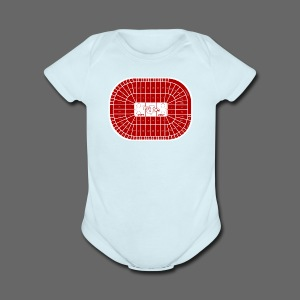 Joe Louis Arena Tribute Shirt - Short Sleeve Baby Bodysuit