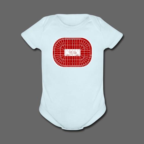 Joe Louis Arena Tribute Shirt - Short Sleeve Baby Bodysuit
