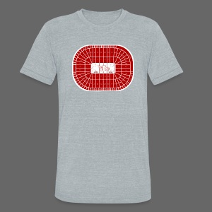Joe Louis Arena Tribute Shirt - Unisex Tri-Blend T-Shirt by American Apparel