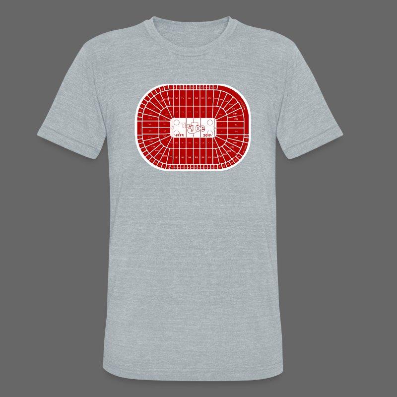 Joe Louis Arena Tribute Shirt - Unisex Tri-Blend T-Shirt