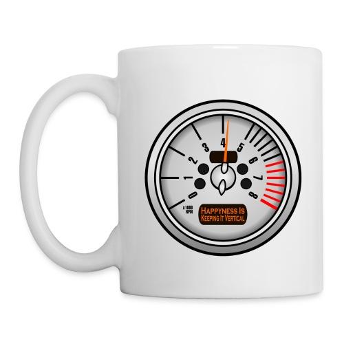 Happyness white coffee mug - Coffee/Tea Mug