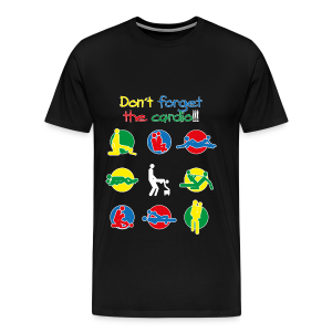 Don´t forget the cardio - men´s - Men's Premium T-Shirt