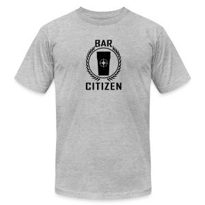 Bar Citizen American Apparel (Black Logo) - Men's Fine Jersey T-Shirt