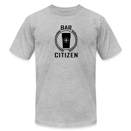 Bar Citizen American Apparel (Black Logo) - Men's T-Shirt by American Apparel