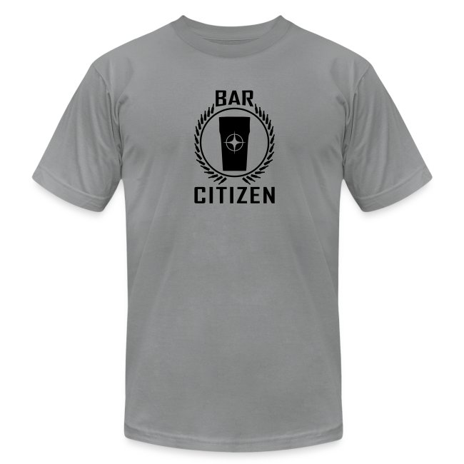 Bar Citizen American Apparel (Black Logo)